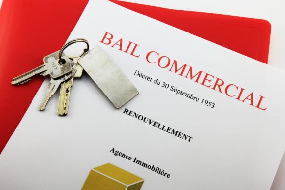 Bail commercial avec clés